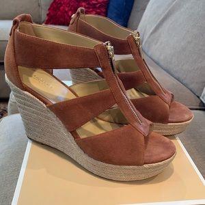Michael Kors Wedge Zip Sandal